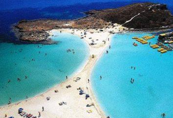 Najlepsze plaże na Cyprze. streszczenie