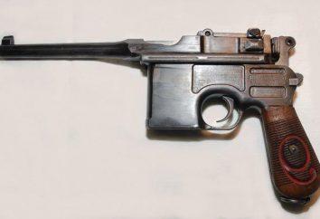 Mauser-Pistole. Moderne Modifikation der legendären Waffen