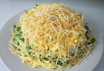 Célèbre ouzbek salade « Dier »: comment préparer et options de conception pour la nourriture