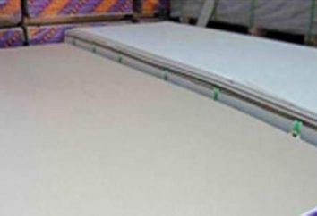Installation de panneaux de cloison de plâtre avec leurs propres mains