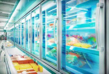 Frigoriferi e congelatori vetrine per sale Attrezzature di commercio