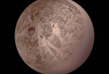satellitare Oberon, Urano: Descrizione