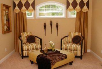 Rideaux pour corniche au plafond – une solution parfaite dans la décoration intérieure