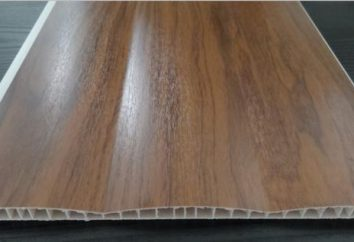 PVC laminato pannello: Descrizione ed applicazione