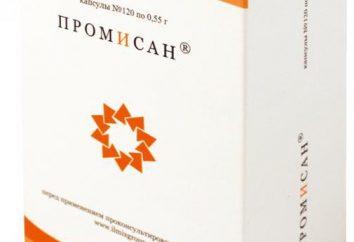 """""""Promisan"""": Instrukcje dotyczące stosowania, dawkowania i działania leku"""