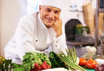 Absolutorium gotować. Chef. pomocnik kucharza
