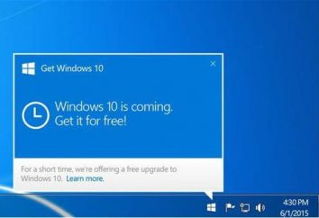 "Annexe ""Télécharger Windows 10"" – supprimer. Comment supprimer une notification ""Get Windows 10"""