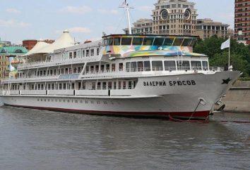 """Statek """"Walerij Briusow"""": historia, zdjęcia, nowoczesne realia"""