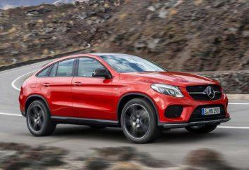 Mercedes GLE Coupe – luksusowy samochód osobowy