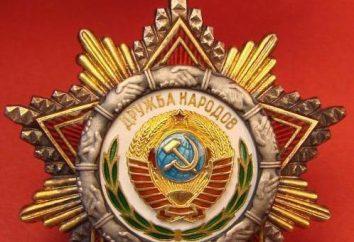 Order Przyjaźni Narodów: Historia