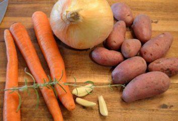 Minestra con le polpette e gnocchi: la ricetta con una foto