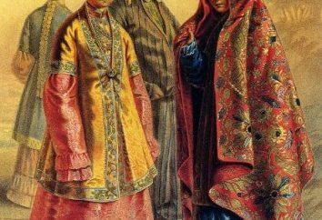 Nationale Tatar Kostüm: Allgemeine Informationen