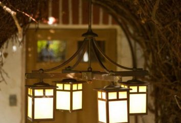 Japan Light: ein Kronleuchter im japanischen Stil
