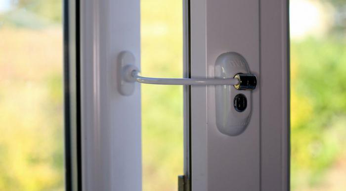 La Protection Des Enfants Dans La Fenêtre Fenêtres De Sécurité