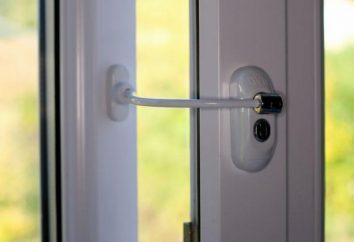 La protection des enfants dans la fenêtre. Fenêtres de sécurité