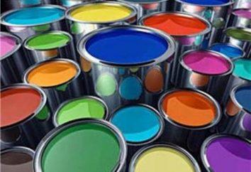 Pinturas de agua y dispersión: los tipos y propiedades