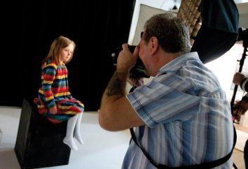 Cómo utilizar el fondo de color sólido del sujeto retratado y tomar fotos?