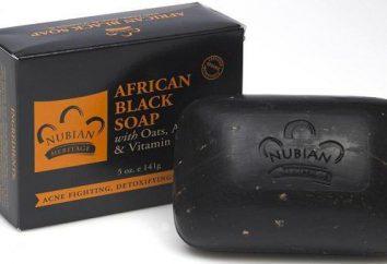 Afrykański czarny mydło: przeczytaj opis