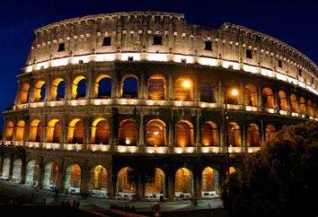 Le Colisée à Rome. ancien stade