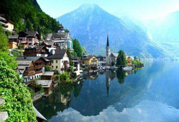 montanha da Áustria: nome, altura. Geografia da Áustria