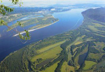 Volga profondeur, la largeur, l'emplacement et d'autres caractéristiques