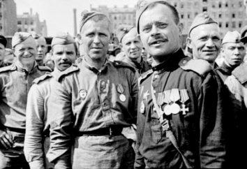 """Guardas unidades no exército: o fundamento, a história. O sinal """"Guarda"""""""