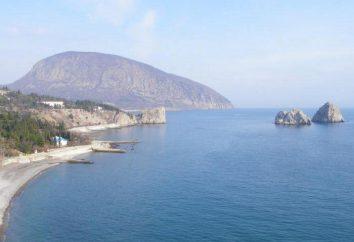 Plaże Gurzuf: zdjęcia i opinie