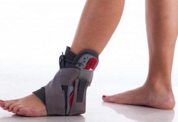 Stecca sulla caviglia: l'indicazione, l'istruzione