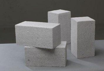 Mousse blocs de béton: avis. Mousse blocs de béton: Caractéristiques