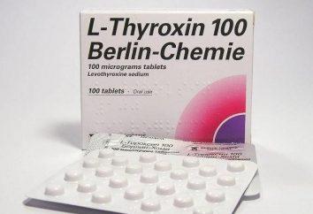 Tiroxina Dieta: información sobre el uso de