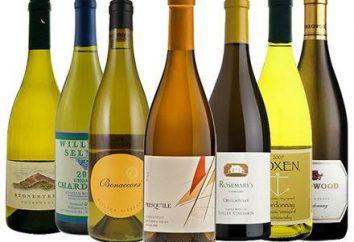 "Vino ""Chardonnay"" (Chardonnay). uve Chardonnay e il vino da esso"