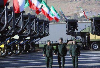 le forze armate iraniane: le dimensioni e attrezzature tecniche