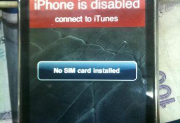 «IPhone jest wyłączony, podłącz do iTunes» – co robić?