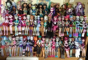 """Świat zabawek """"Monster High"""": lalki, opis, opis"""