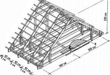 Poluvalmovaya toit: photo, un dessin, une unité de structure. Comment toit poluvalmovaya avec ses mains?