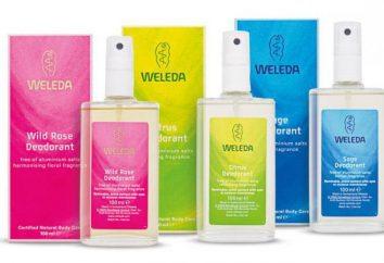 Déodorant Weleda: parfums, des critiques