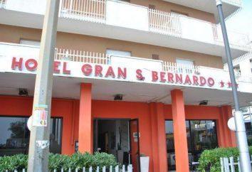 Hotel Gran San Bernardo 3 * (Italien, Riccione, Cattolica und Marittima): Bewertungen, Beschreibungen, Zahlen und Bewertungen