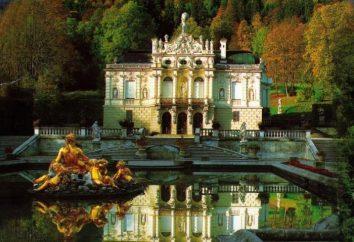 Linderhof Magnifico. Castello di Versailles o nelle Alpi?