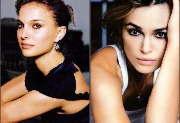 "Natalie Portman e Kira Naytli: aktrisy- ""gêmeos"""