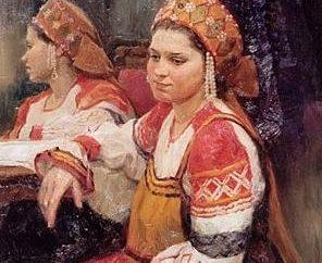 Comment ne kokoshnik en costume russe