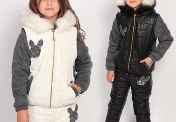 traje de invierno para niñas – hacer una elección de acuerdo a las normas