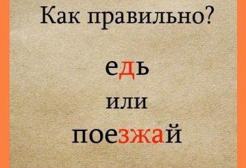 Ehay lub ezzhaj: w jaki sposób? Jak: iść do przodu lub jazdy