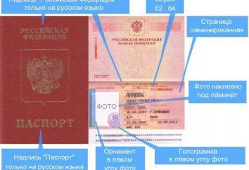 Wie ist das Datum der Herstellung des Passes? Zeit der Herstellung des neuen und alten Passes