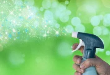 Stawki stosowania detergentów do czyszczenia