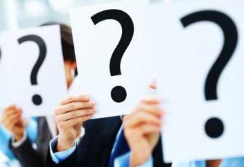 Beantworten Sie eine Frage mit einer Frage – es ist ein Trick oder ein Zufall ist?