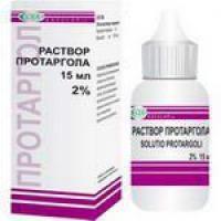"""""""Protargolum"""" (gocce per il naso): istruzioni per l'uso, il prezzo"""