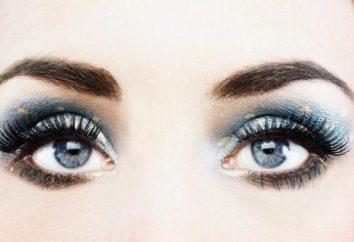 Cómo usar los ojos azules azul sombra de ojos