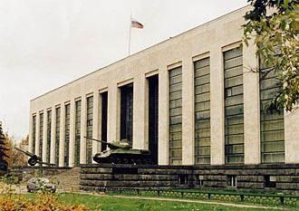 Warte Moskwa. Soviet Army Museum