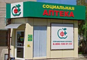 pharmacie sociale Krasnodar: avantages, adresses