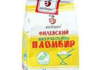 """""""Filevskaya"""" helados – el estándar de naturalidad"""